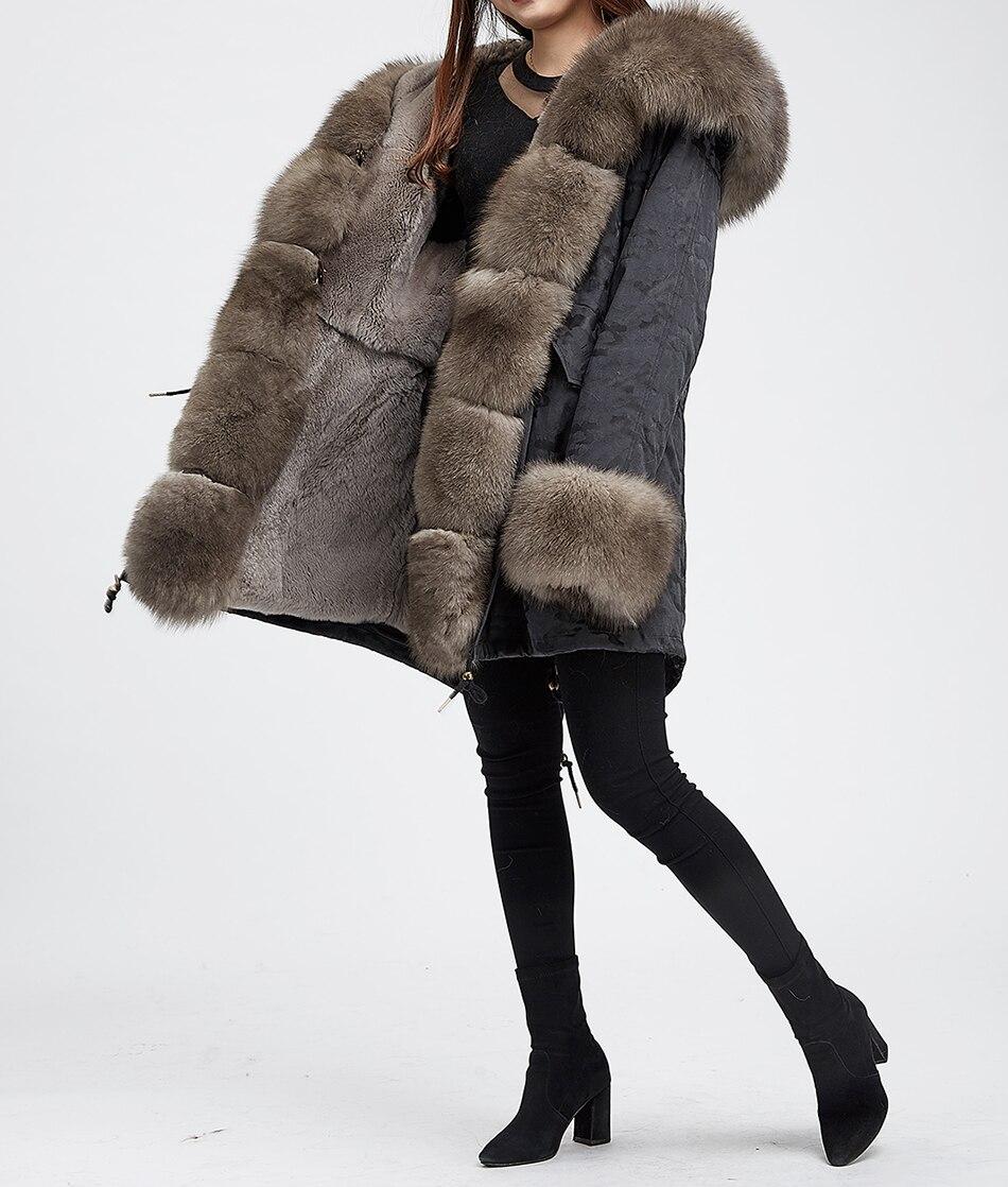 Filles Fourrure Véritable Chaud Outwear реальный рекс кроликов теплый пальто