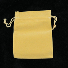 9x12cm Brown Jewelry Bag Velvet Pouch Gift Bags With Drawstring Jewellery Packaging Wholesale Lots 100PCs Jewelry Pouches(China)
