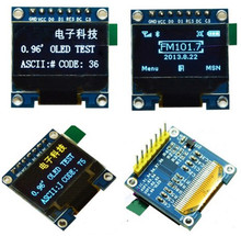 0.96 inch 7PIN Yellow Blue /White/Blue OLED Display Module SSD1306 Drive IC 128*64 SPI Interface(China)