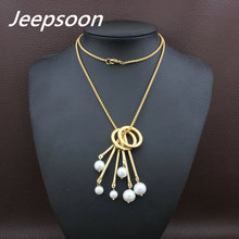Buy Fashion Stainless Steel Jewelry Woman Long Chain Necklace High Jeepsoon NEIFAFBH for $4.06 in AliExpress store