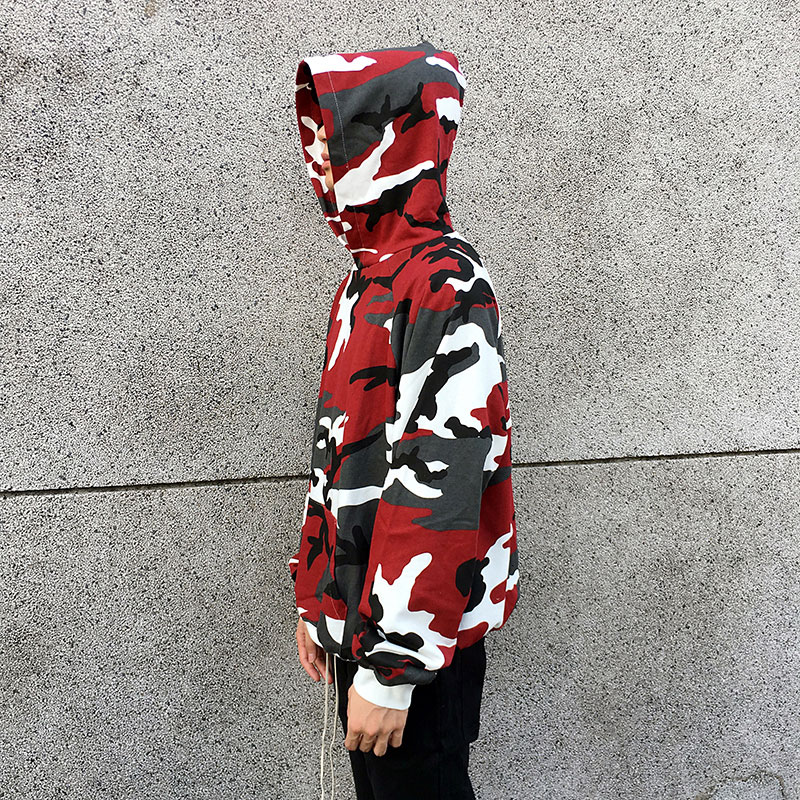 Camouflage Pullover Hoodies 2
