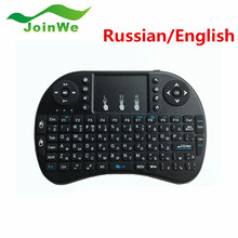 Mini i8 Wireless Keyboard 2.4GHz Russian English letters Air Mouse Remote Control Touchpad For Android Tv Box Notebook Tablet Pc