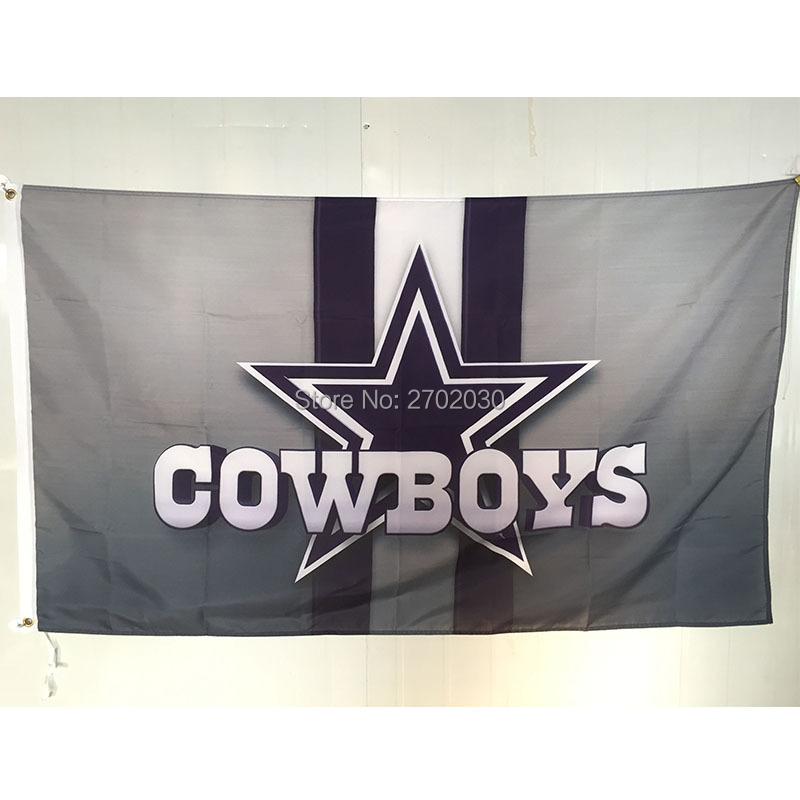 Star Dallas Cowboys Flag World Series 2016 Cowboys Jersey Premium Football Team 3ft X 5ft Banners Star Dallas Cowboys Flags(China (Mainland))