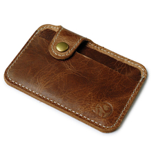 2017 Men Genuine Leather Wallet Rfid Blocking Credit Card ID Holder With Strong Magnet Money Clip Women Travel Zipper Coin bag(China)