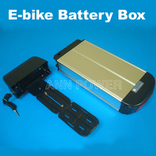 Electric bicycle case 36v lithium ion battery box 36v E-bike battery case used for 36V 8A 10A 12A li-ion battery pack(China)