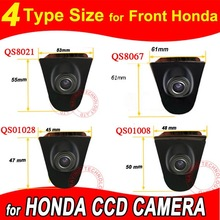 Color CCD Vehicle logo Front view camera for Honda Odyssey New accord Civic CRV Spirior Crosstour
