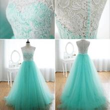 Long Special Dresses Chiffon Tulle with Top Champagne silver Sequin Dresses Formal Dress