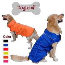 Top quality Waterproof Warm Big Dog Jacket Casual Dog coat Sport pet dog clothes Vest  for All Seasons with Refecting trim