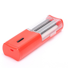 2017 USB Electric Automatic Cigarette Rolling Machine DIY Tobacco Injector Maker Roller Cigarettes Make Machine For Smoking(China)