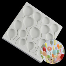 3D Balloon Lollipop Silikon Form Silicone Soap Mould Pastry Tools Fondant Cake Molds Cake Decorating Tools Baking Accessories
