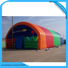 Flame retardant and waterproof inflatable rainbow tents(China)