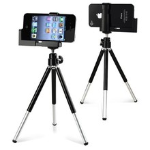 HONGDAK 2016 Hot Tripod Stand Camera New Mobile Rotatable Holder for Apple iPhone 5 4 4S 4G iPod Free Shipping(China)