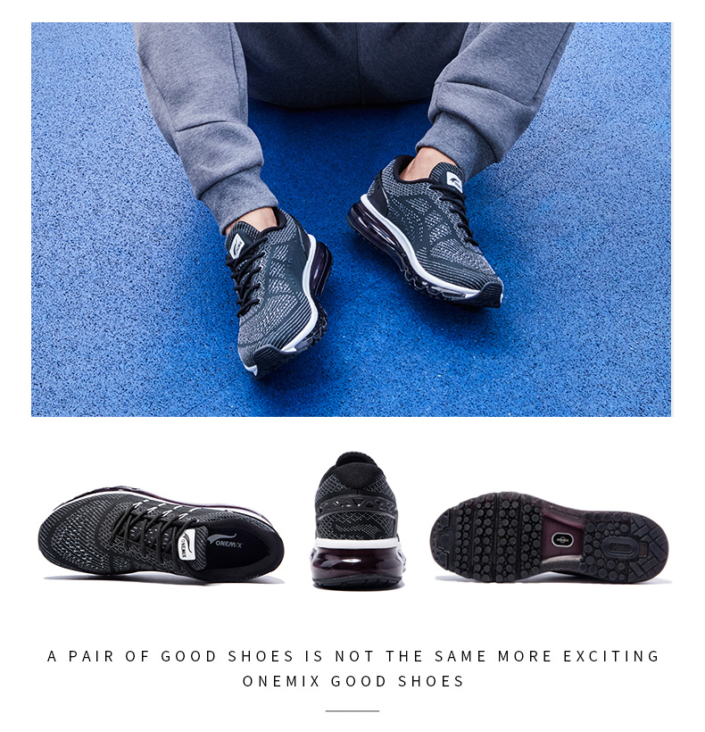 17 Air Cushion Running Shoes Breathable Massage Sneakers Man Jogging Sport Sneakers for Outdoor Walking Shoe Run Comfortable 11