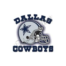 3x5ft Dallas Cowboys flag with grey helmet blue star and white background custom banner(China)