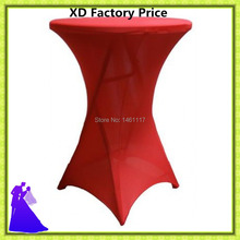 2016 new arrival big discount hot selling lycra cocktail table cover  20pcs/lot free shipping