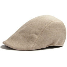Mens Womens Duckbill Cap Ivy Cap Driving Sun Flat Cabbie Newsboy Hat Unisex berets(China)