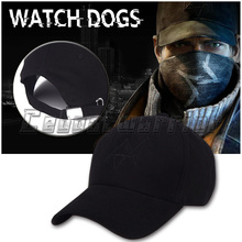 High Quality  Game Watch Dogs Aiden Pearce Cap hat  Watch Dogs Cosplay Hat accessary