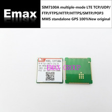 SIM7100A multiple-mode LTE TCP/UDP/FTP/FTPS/HTTP/HTTPS/SMTP/POP3 and MMS,standalone GPS 100% New original JINYUSHI stock(China)