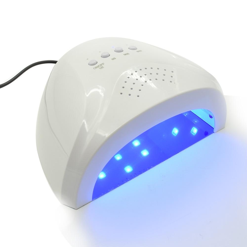 48W sun508 Nail Dryer LED UV Lamp Nail Beauty Salon Makeup Cosmetic Nail Dryer Polish Machine for Curing Nail Art Tools<br>