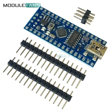 Nano V3 ATmega168 CH340G Mini USB UART Interface Compatibile Board Module For Arduino 16Mhz 3.3V-5V Microcontroller Reset USB(China)