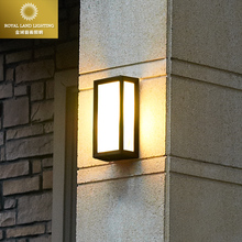 Fashion modern brief vintage outdoor wall lamp waterproof lighting fitting outdoor walls balcony gazebo ip54 e27 bulb