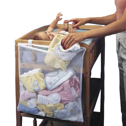 Home Clothes Storage Organization multi Baby Diaper Nappy Crib Hanging bag Nursery Closet Furniture Accessories Supplies Product