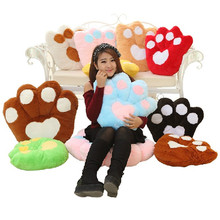 candice guo plush toy stuffed doll cute bear palm paw shape soft warm cushion pillow creative lover Christmas birthday gift 1pc