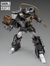[Show.Z Store] Cloud 9 W-01B Quakeblast Black Version C9 Cloud9 Quake Blast Shockwave Transformation Action Figure(China)
