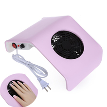 MDSKL Eu/uk/us Plug Mini Convenient 30w 220v / 110v Electric Suction Nail Dust Collector Machine 2 Colors(China)