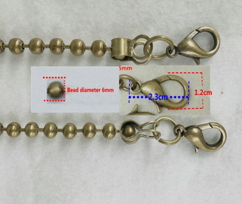 Purse Shoulder Cross Body Handbags Replacement Chain Strap