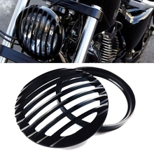 "2016 New Motos Accessories 5.75"" Headlight Grill Cover For Harley Davidson Sportster XL 883 1200 2004-2014"