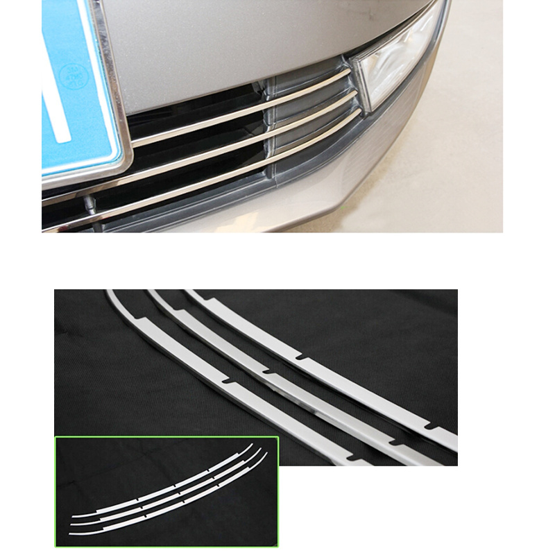 High Quality  Stainless Steel Bumper Billet Grille Grill Insert For Skoda Octavia MK3 A7 2015 2016<br><br>Aliexpress