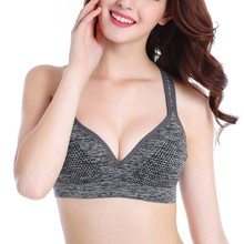 Ladies Women Running Stylish Soft Sports Bras Padded Wire Home Daily Bra A