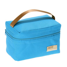 Portable Lunch Box Bag Insulated Thermal Cooler Bento Lunch Box Tote Picnic Storage Bag,bolsa almuerzo,sac repas,bags for food