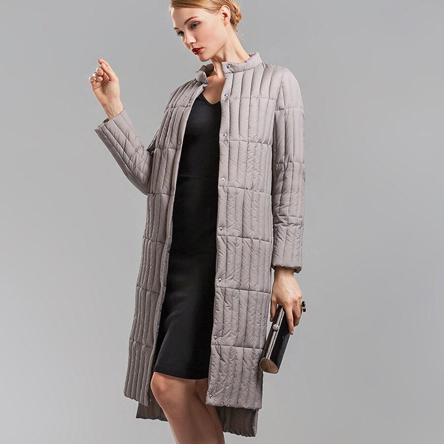 Long Padded Down Coat Winter Outerwear Women Women