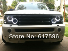 Super Bright CCFL Angel EyesHalo Rings For Land Lover Range Rover Hse Model 03-06 CCFL Angel Eyes Kit Free Shipping
