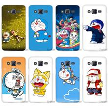 Ocean Cartoon Cat Doraemon Clear Case Cover Coque Shell for Samsung Galaxy J1 J2 J3 J5 J7 2016 2017 Emerge