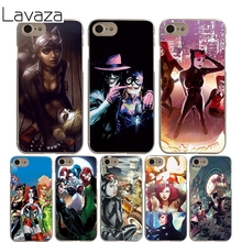 Lavaza Poison Ivy Harley Quinn Cover Case for iPhone X 10 8 7 6 6S plus Cases for Apple 5 5S 5C SE 4 4S Coque Shell(China)