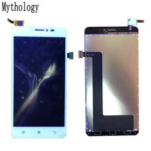 "Mythology Touch Screen Display For Lenovo S850 5.0"" 1280*720 Mobile Phone Touch Panel LCD White In Stock(China)"