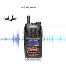 really 7W Baofeng UV-6R Walkie Talkie Two Way Radio Dual Band Vhf Uhf high quality more than baofeng uv-5r(China)