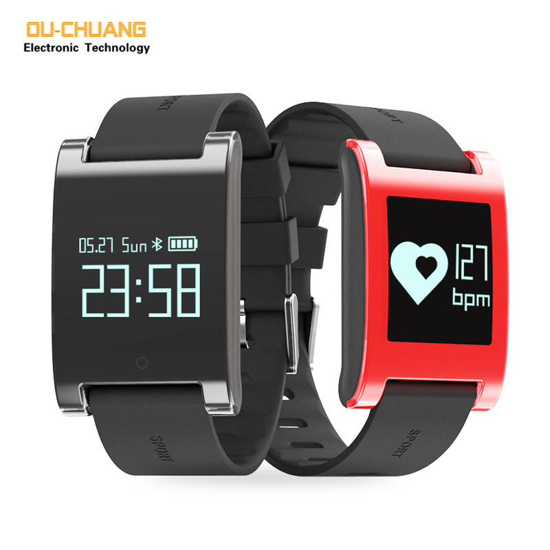Sport Digital Smartwatch Heart rate Sleep Monitor Smart Watches Steps Distance Calories Monitor Casual watch 2017 New <br>