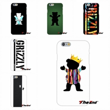 Grizzly Grip Logo top Funny Art For Samsung Galaxy Note 3 4 5 S4 S5 MINI S6 S7 edge Soft Silica Gel TPU Case Silicone Cover