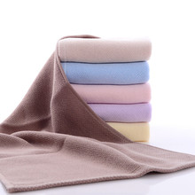 Ouneed 34*75cm Soft Cotton Face Flower Towel Bamboo Fiber Quick Dry Towels*23 2017 hot sale