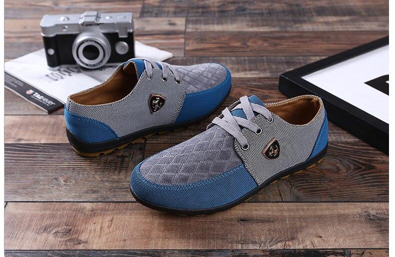 18 Fashion Canvas Shoes Men Casual Shoes Summer Breathable Yellow Comfortbale Espadrilles Sneakers Men Flats Shoes Big Size 11