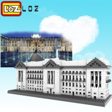 LOZ Buckingham Palace Diamond Block World Famous Architecture Series Westminster London UK Model Building Toy Bricks