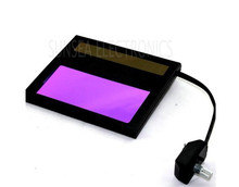 Auto darkening Welding  Helmet LCD Filter, ADF with Li battery  Glass Lens,Welding Head Mask  Helmets