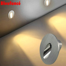 Wall Lights LED Corner Lamp Footlights 3W Embedded  Step Lights Outdoor Stairs Light Skirting Night lights 10pcs/lot  CR27