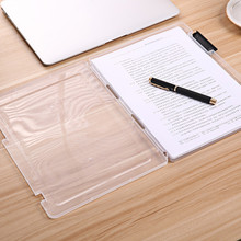 1pc A4 Transparent Storage Box Clear Plastic Document Paper Storage Filling Case File Organizer For The Office30.7*23.2*2cm@GH(China)