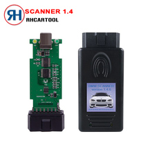 2017 Hot Sell Auto scanner 1.4 for BMW Scanner 1.4.0 Version OBD2 Code Reader 1.4 OBD Diagnsotic Tools Free Shipping