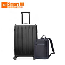 SPSR Original Xiaomi 90 Minutes Spinner Wheel Luggage Suitcase 24 Inch And Xiaomi Classic Business Backpack for 15 Inch Laptop